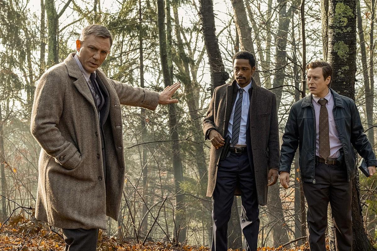 Daniel Craig aktoreak betetzen du detektibearen rola Rian johnson zuzendariaren filmean. ©BERRIA