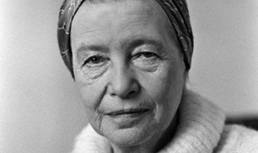 Simone de Beauvoirrek 40 urte zituen <em>Bigarren sexua</em> eman zuenean. ©ANNEMIEK VELDMAN
