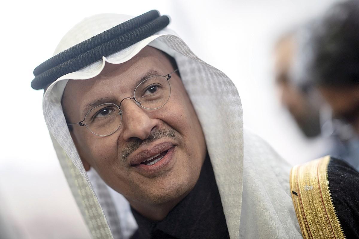Abdulaziz bin Salman Al Saud, Saudi Arabiako Energia ministroa, atzo Vienan. ©CHRISTIAN BRUNA / EFE