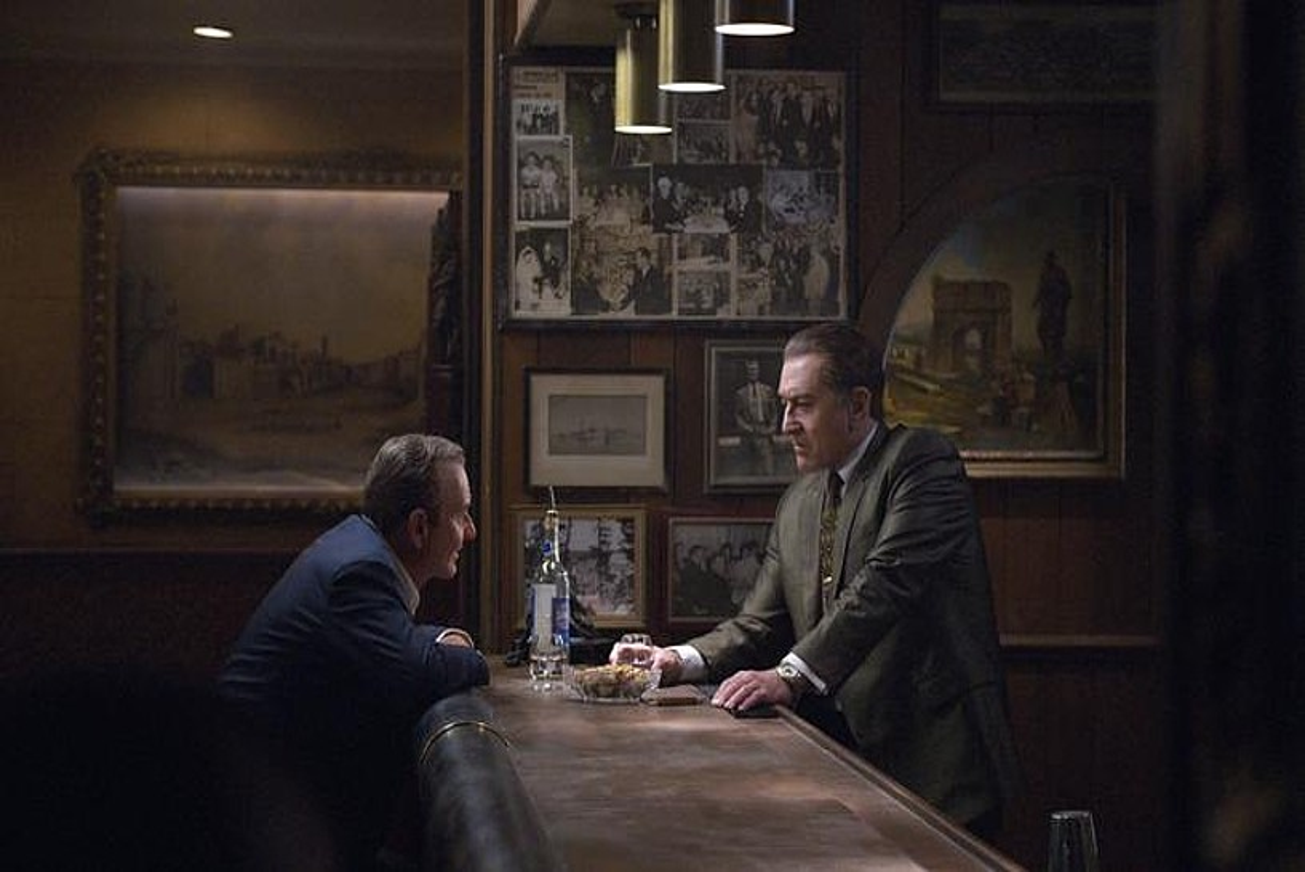 <em>The Irishman</em> filmaren fotograma bat. Netflix plataforman ikusgai dago Martin Scorseseren lan berria. ©NIKO TAVERNISE / EFE