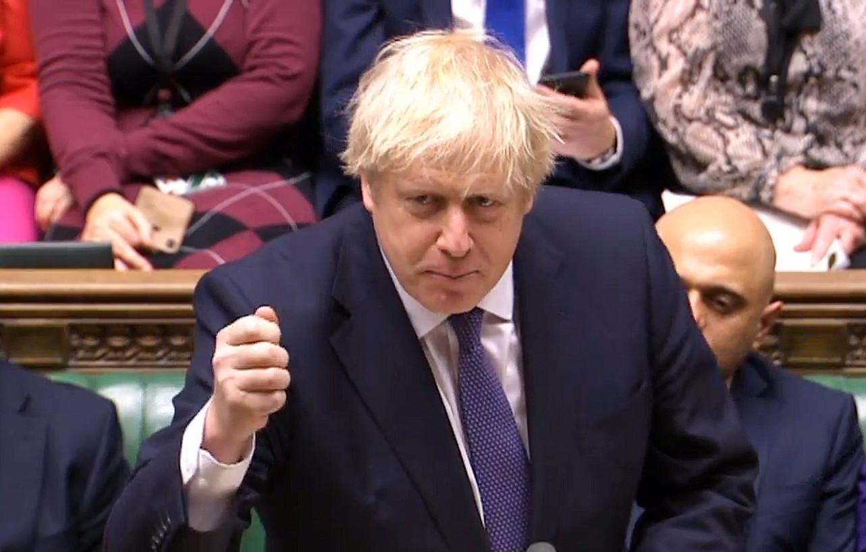 Boris Johnson Erresuma Batuko lehen ministroa, atzo, Westminsterren, Londresen. ©EFE