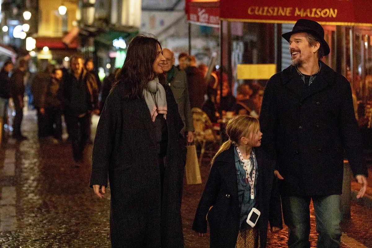 Juliette Binoche eta Ethan Hawke filmeko eszena batean. ©BERRIA