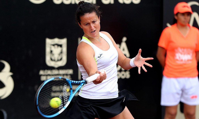 Lara Arruabarrena, iaz, Bogotan jokatutako torneoan. ©LEONARDO MUÑOZ / EFE