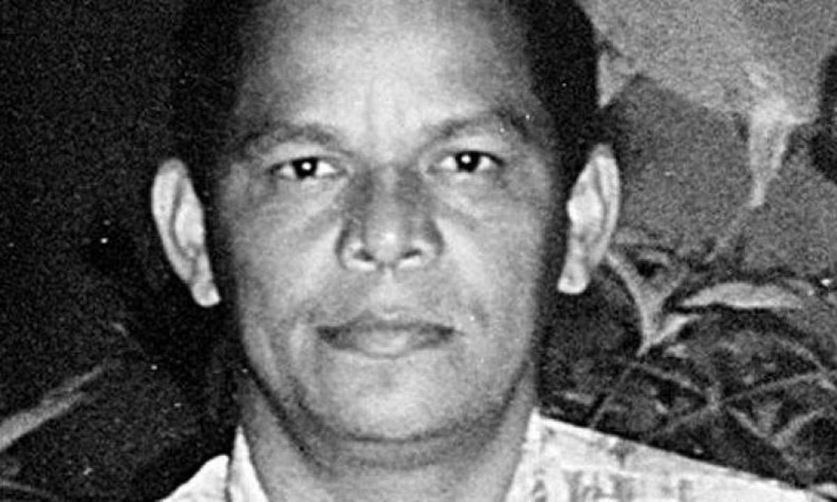 Poliziak eta paramilitarrek hil zuten Adolfo Freytter Romero irakaslea, 2001eko abuztuaren 28an. ©EL TIEMPO