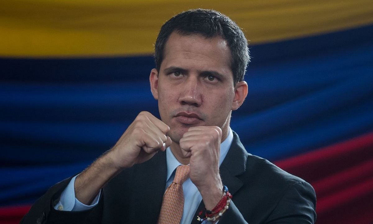 Juan Guaido Venezuelako oposizioko buruak iragarri du Telesur �askatasunaren zerbitzuan� jarri nahi duela. ©M. G. / EFE