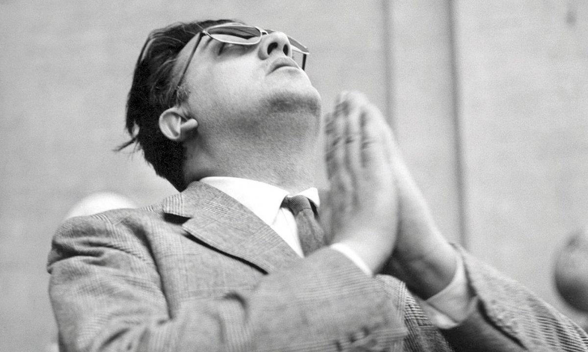 Federico Fellinik jadanik 30 urte pasa zituenean sentitu zuen zinemagile izateko bokazioa. ©EFE