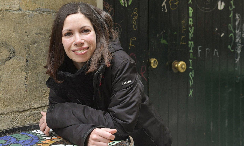 Paola Damonti ikertzailea, artxiboko irudi batean. ©IDOIA ZABALETA / FOKU