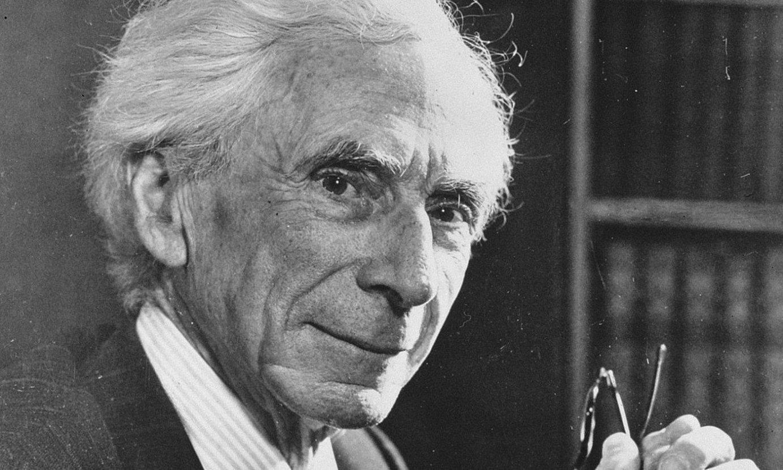 Bertrand Russel matematikari, filosofo eta aktibista, 1957ko azaroan. ©BERRIA