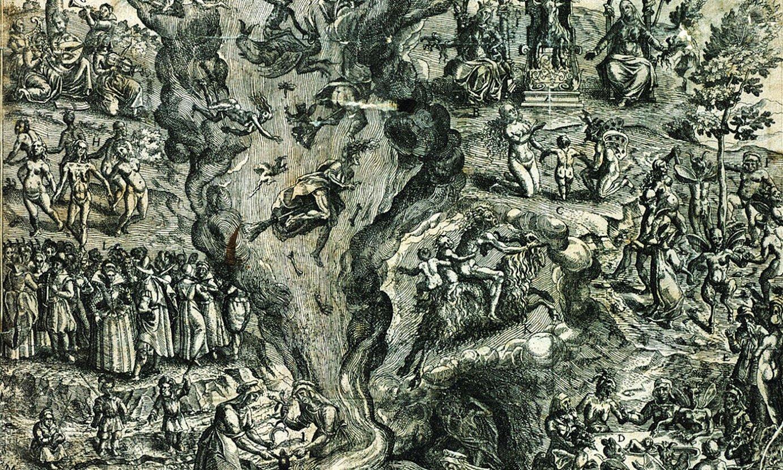 Jan Ziarnkoren <em>El s�bat de les bruixes</em> grabatua (Sorginen akelarrea), 1613. urtekoa. ©BIBLIOTH�QUE DU PATRIMOINE, TOULOUSE