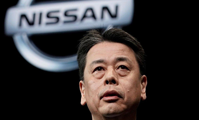 Makoto Uchida Nissan Motorreko zuzendari nagusia. ©KIMIMASA MAYAMA / EFE