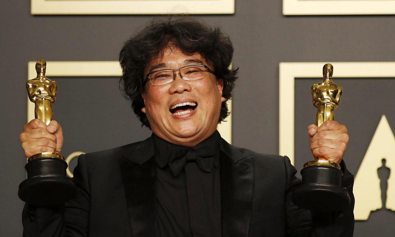 Denera, Bong Joon Ho zuzendari korearrak lau garaikur lortu zituen. ©DAVID SWANSON / EFE