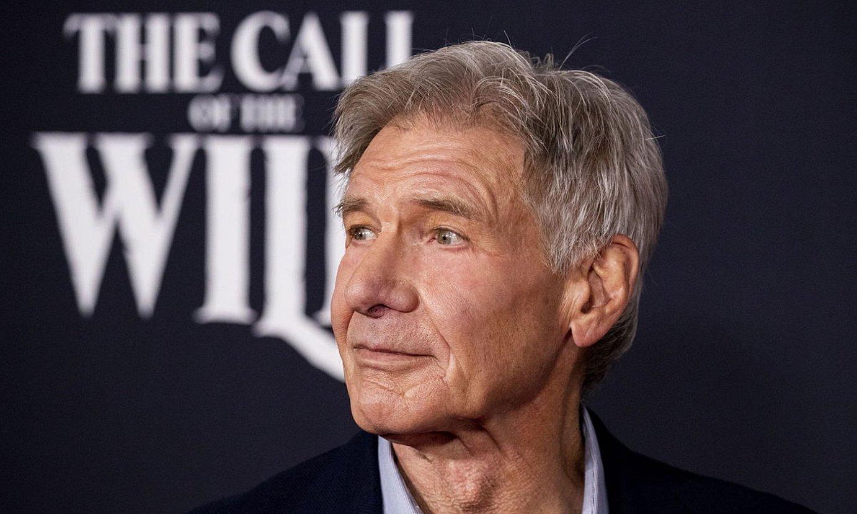 Harrison Ford aktorea, atzo, <em>The Call of the Wild</em> filmaren estreinaldi egunean. ©ETIENNE LAURENT / EFE