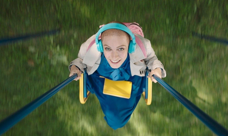 Polina Maksimova, <em>257 reasons to live</em> telesaileko aktore nagusia, fotograma batean. ©START
