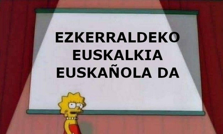 Euskarari buruzko memeak. ©Z / EZEZAGUNA