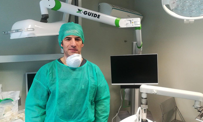 Gabriel Larrinaga odontologoa eta zirujaua. / BERRIA