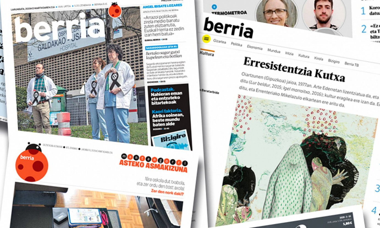 Eskaintza osatu egin du BERRIAk egunotan. ©BERRIA