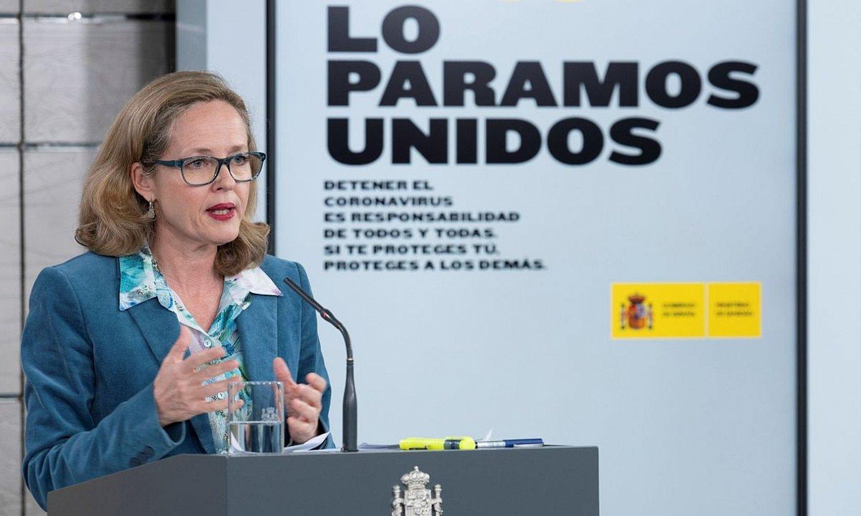 Nadia Calviño ministroa, atzo. ©EFE