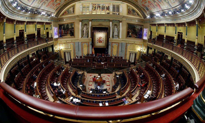 Espainiako Kogresura 43 diputatu soilik joan ziren atzo. / MARISKAL/ EFE