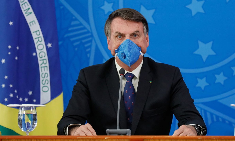Jair Bolsonaro Brasilgo presidentea. / ISAC NOBREGA / EFE
