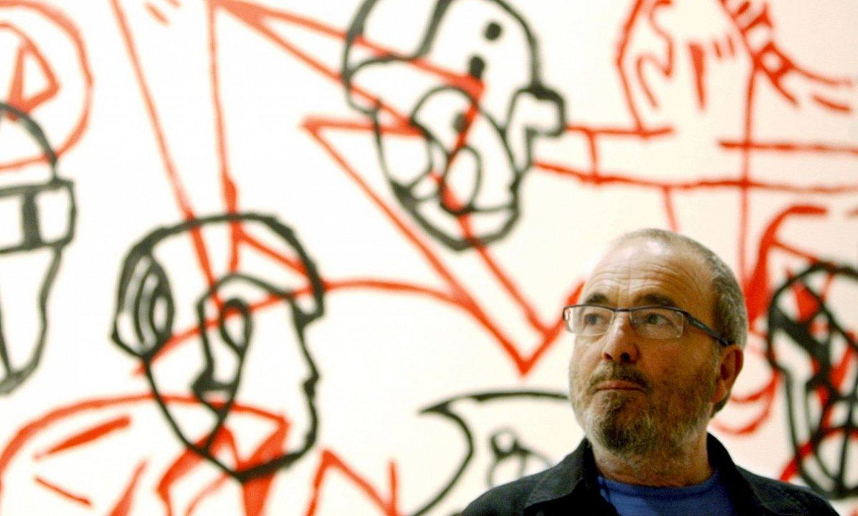 Jose Luis Zumeta, Bilboko Arte Eder museoan jarritako erakusketan, 2009an. ©LUIS TEJIDO / EFE