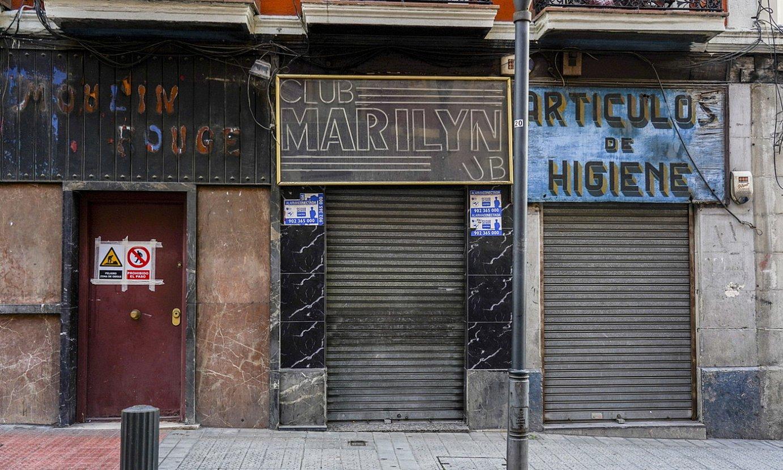 Prostituzio klubak itxita daude, osasun larrialdiaren ondorioz. / MARISOL RAMIREZ / FOKU