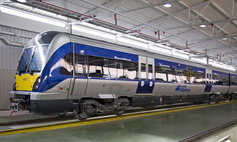 Translink Ipar Irlandako eragilearen trenen mantentze lanak egingo ditu CAFek beste hamabost urtez. ©CAF