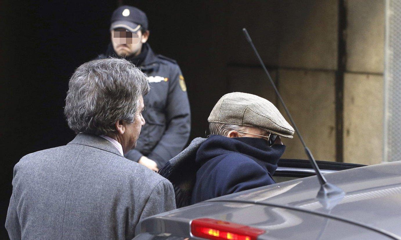 Antonio Gonzalez Pacheco, 2014an, Espainiako Auzitegi Nazionaletik ateratzen.