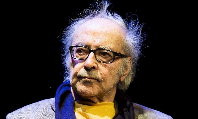 Jean-Luc Godard zinemagile frantziarra. ©SEBASTIAN NOGIER / EFE