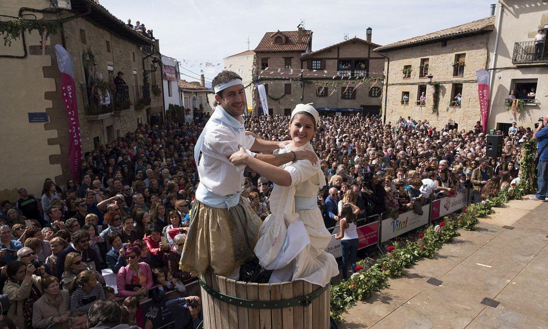 Arabako Errioxako Uzta Berri festa ospatzen, Ekoran. ©ADRI�N RUIZ DE HIERRO / EFE