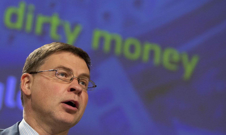 Valdis Dombrovskis, Batzordeko presidenteorde ekonomikoa. ©V. MAYO / EFE