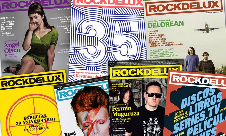 <em>Rockdelux</em>-en hainbat ale, tartean, aldizkariaren azkena. ©BERRIA