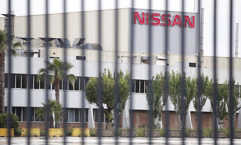 Nissanek Bartzelonan duen lantegia itxi nahi omen du, eta jarduera Renaulten lantegi batera aldatu. ©ALEJANDRO. GARCIA / EFE