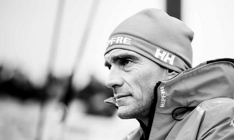 <b>Bakardadea. </b>Azkeneko Volvo Ocean Race proban, Xabi Fernandez, pentsakor. ©XABI FERNANDEZ