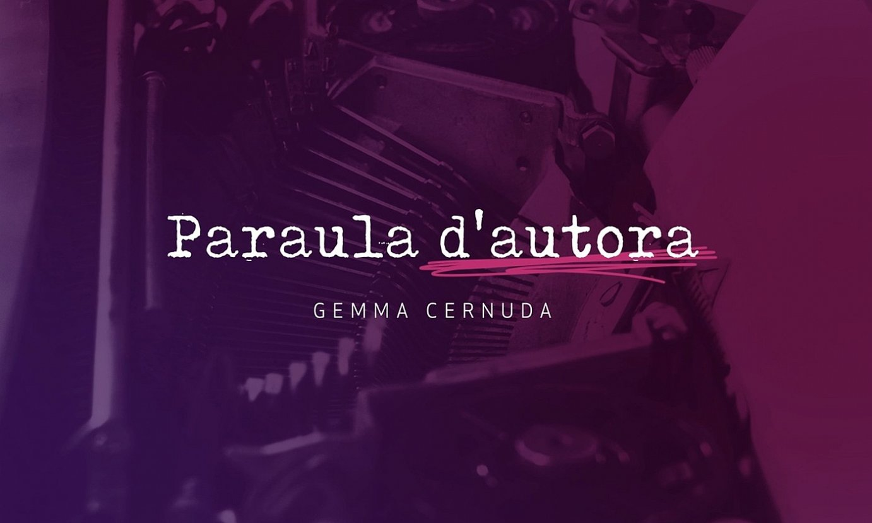 Gemma Cernudak aurkeztuko du Fibracat TV telebista kate berriko saioetako bat. Katalan hutsean izango da. ©FIBRACAT