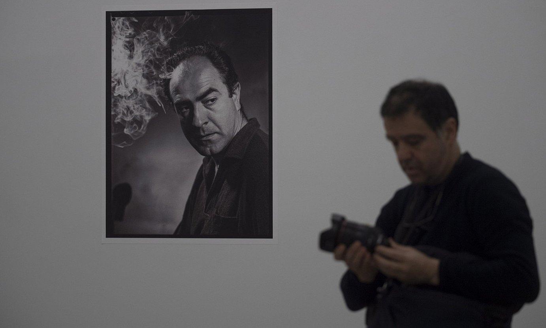 Nestor Basterretxeari eskainitako erakusketako irudi bat. ©JUAN CARLOS RUIZ / FOKU