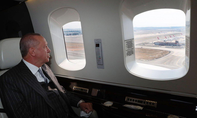 Recep Tayyip Erdogan Turkiako presidentea, artxiboko argazki batean. ©EFE