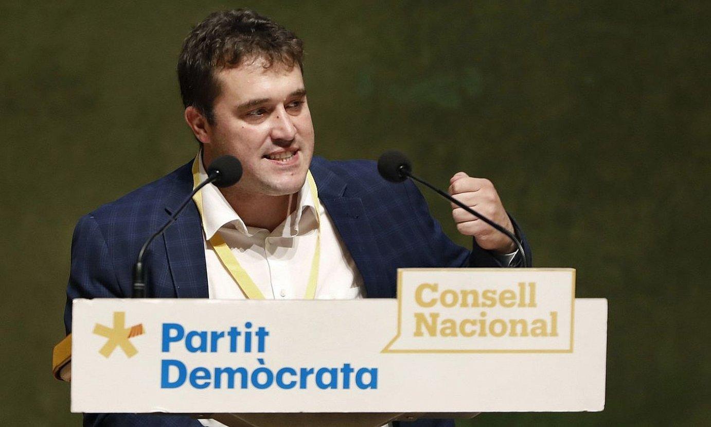 David Bonvehi PDeCATeko presidentea. ©ANDREU DALMAU / EFE