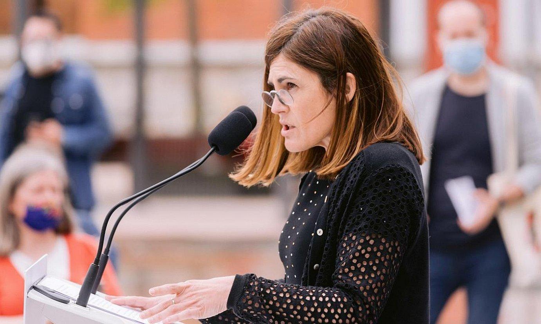 <b>Aliantzarako prest.</b> Jaurlaritzan hiruko �aurrerakoia� osatzea proposatu du Elkarrekin Podemosek. ©J. RODRIGUEZ / EFE