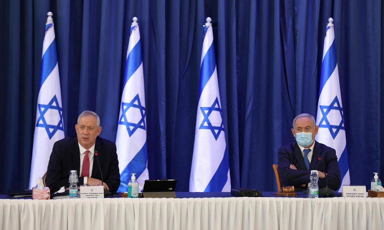 Netanyahuk anexio plana atzeratu beharko du. ©ABIR SULTAN / EFE