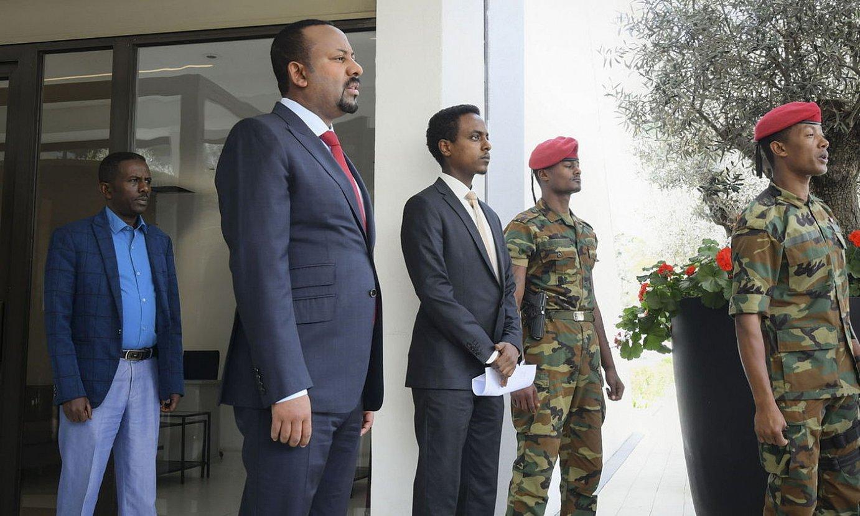 Abiy Ahmed Etiopiako lehen ministroa. ©STR / EFE