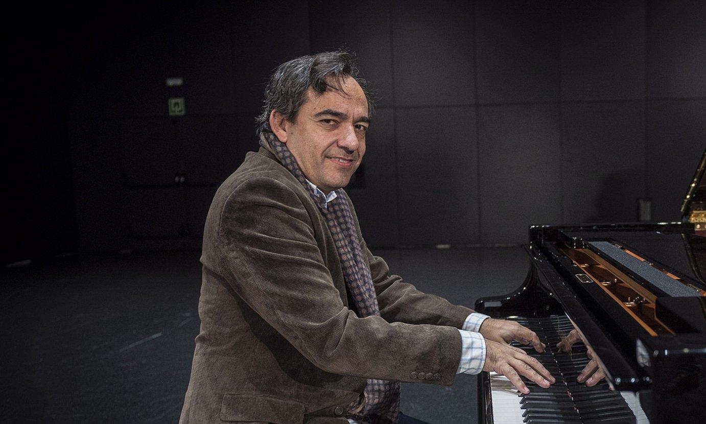 Josu Okiñenak irailaren 5ean interpretatuko ditu, Viktoria Eugenian, Beethovenen lanak. ©GORKA RUBIO / FOKU
