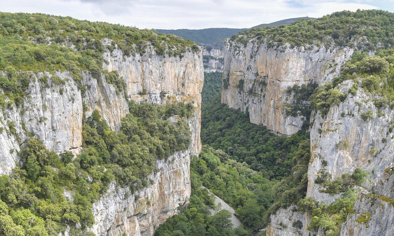 Arbaiungo arroila da Nafarroako handiena eta ikusgarriena. ©IDOIA ZABALETA / FOKU