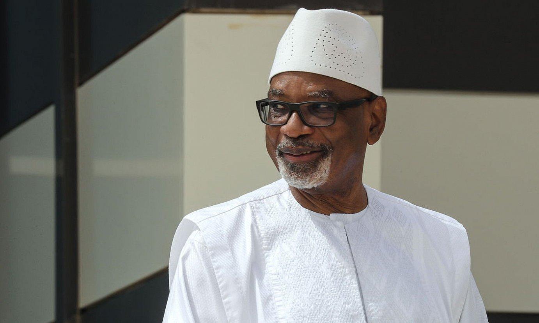 Maliko presidente Ibrahim Abubacar Keita kargutik kentzea nahi du oposizioak. ©LUDOVIC MARIN / EFE