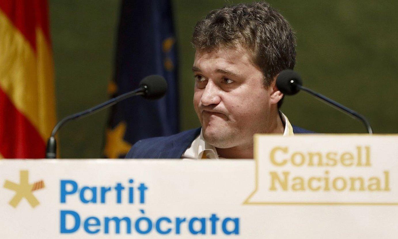 Bonvehi PDeCAT Kataluniako alderdi independentista eskuindarraren burua, artxiboko irudi batean. ©A. DALMAU / EFE