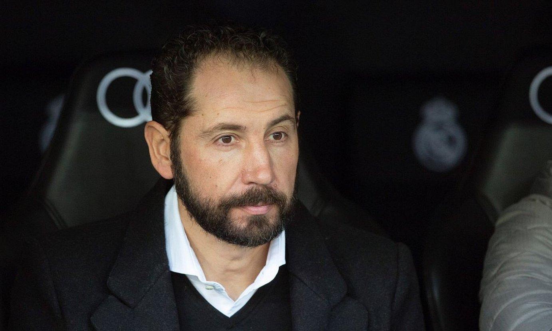Pablo Machin, Espanyoleko entrenatzailea zela. ©RODRIGO JIMENEZ / EFE