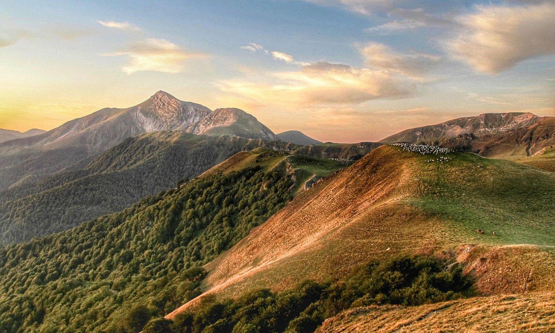 Orhi mendia, Mehatze lepotik begiratuta. Ederra da paisaia. ©MIKEL ARRIZABALAGA