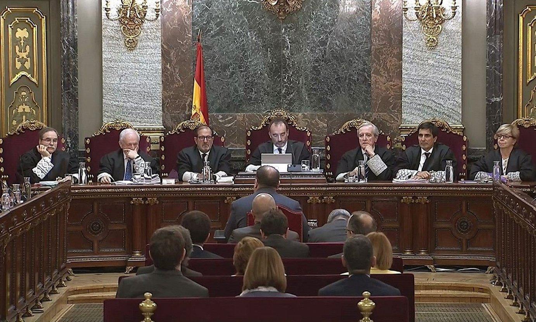 Epaiketaren amaiera Espainiako Auzitegi Gorenean, iazko ekainean. ©EFE