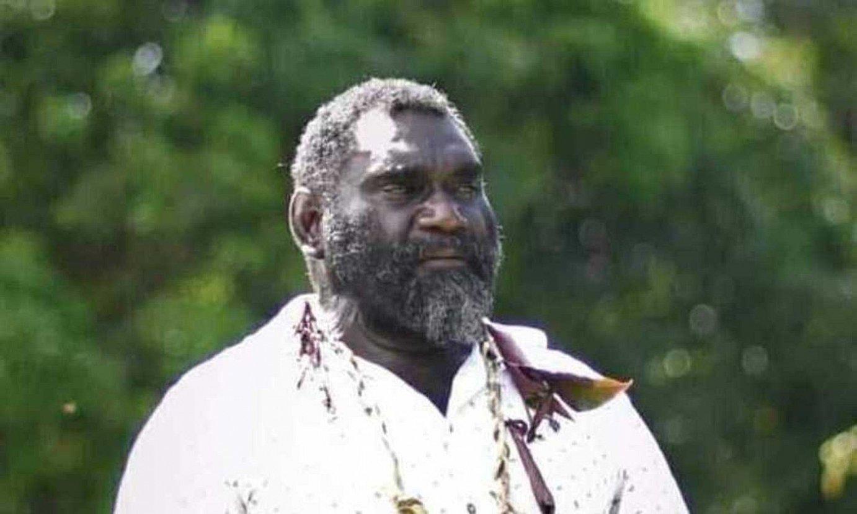Ishmail Toroama, Bougainvilleko presidente hautatua. ©BERRIA