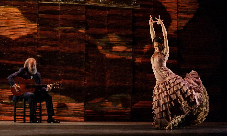 Besteak beste, Ana Moralesen flamenko emanaldia ikusi ahal izango da Bilboko Guggenheim museoan. ©DANTZALDIA