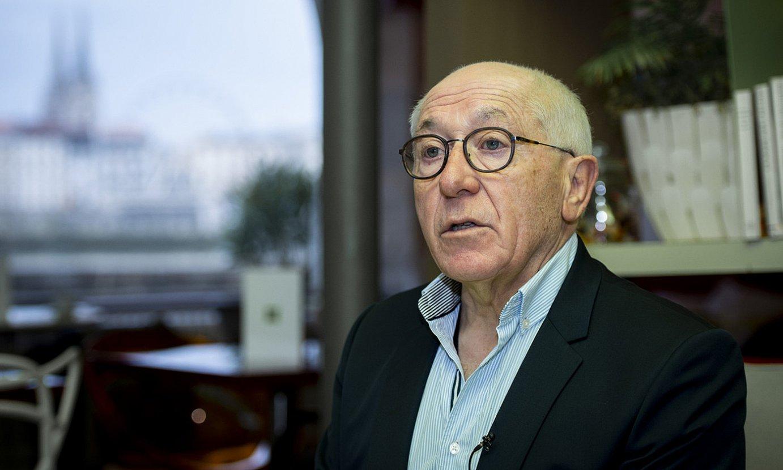 Jean Rene Etxegarai, artxiboko irudi batean. ©GUILLAUME FAUVEAU